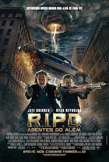 """Poster do filme """"R.I.P.D. - Agentes do Além"""""""