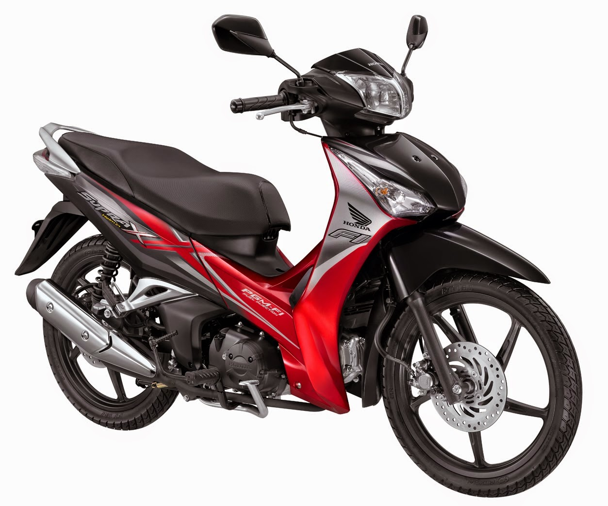 gambar new supra x 125 pgm fi | Difference Between