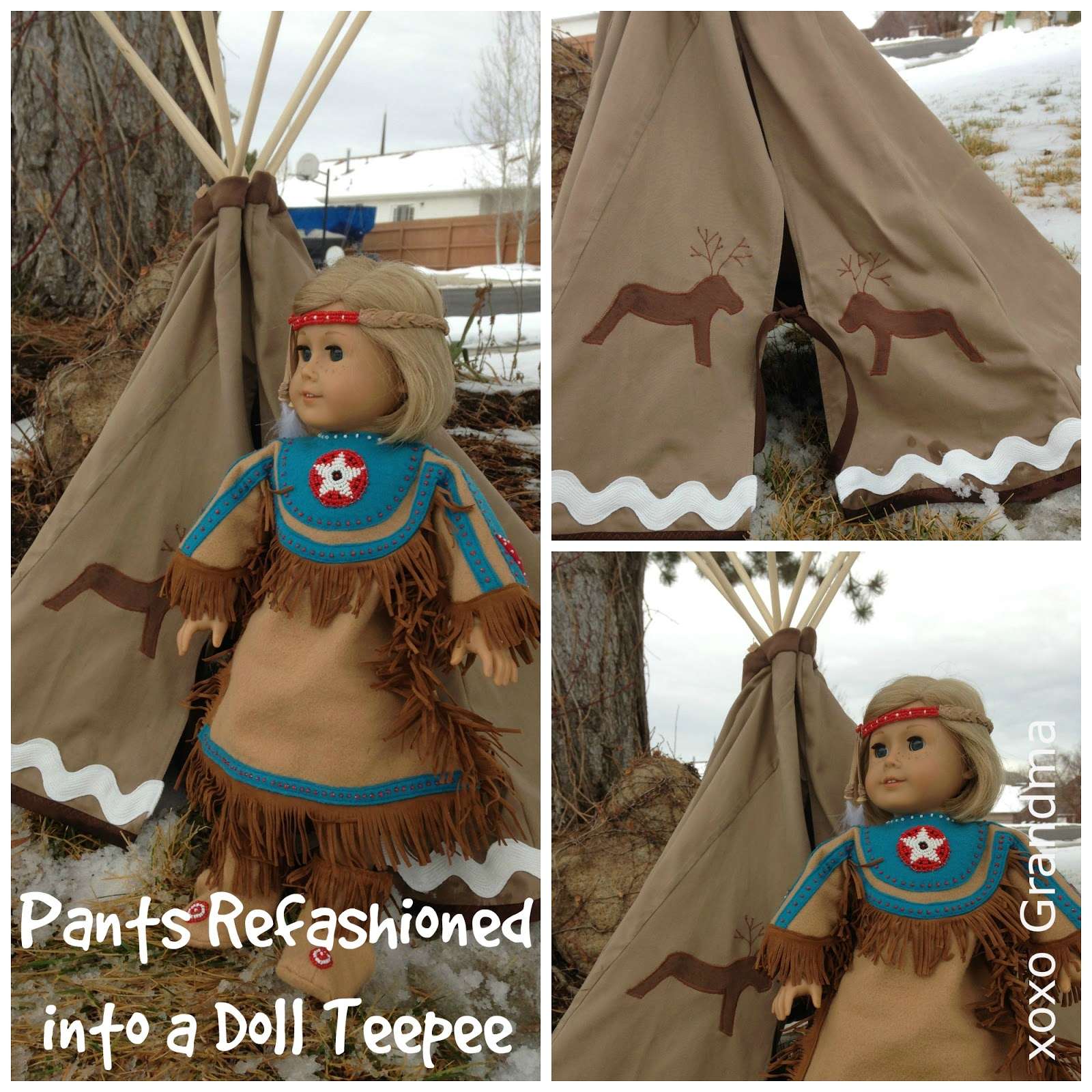 Can Indian tee pees for dolls think, that