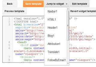 new blogger t html emplate editor