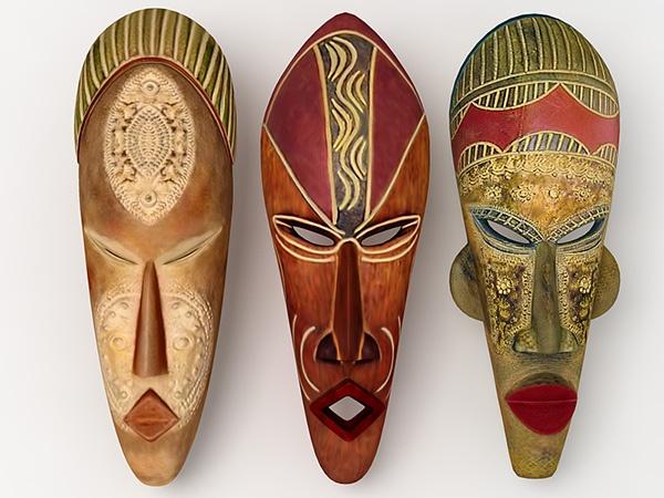 Африканские маски  фото