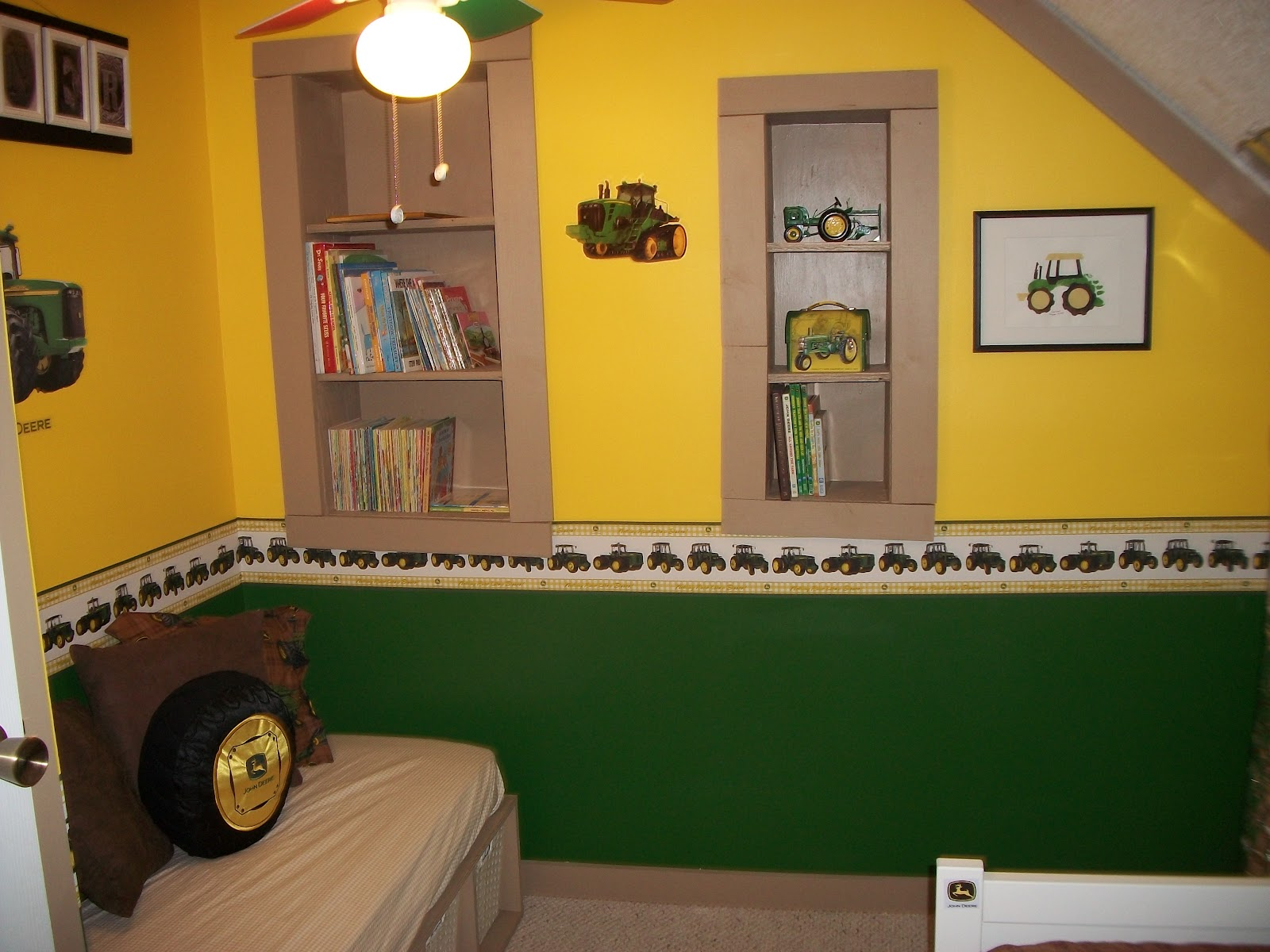 John Deere Boys Bedroom : Growing in god s grace john deere boy room