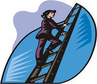 carreira subindo escada