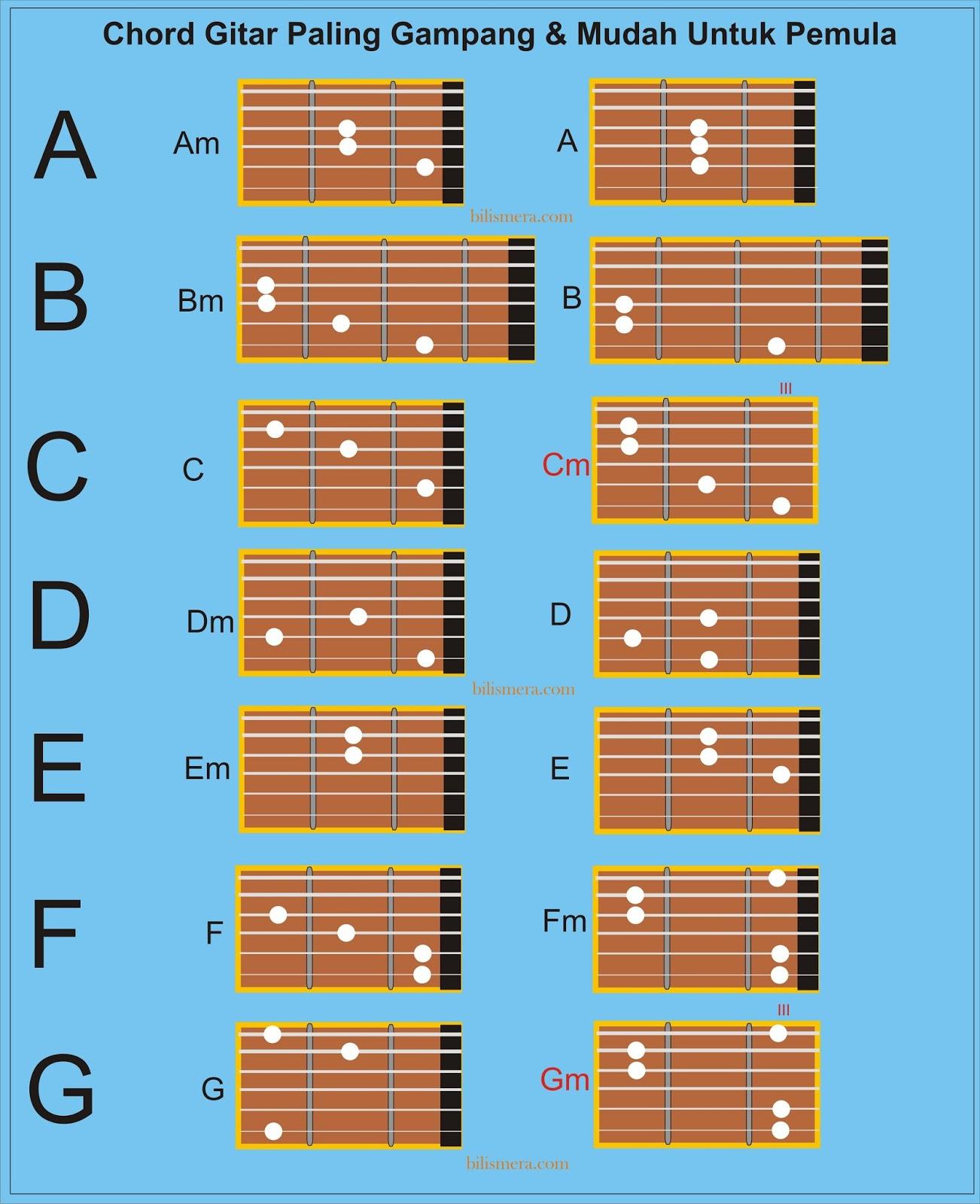 Cara Cepat Bisa Bermain Gitar, Paling Mudah Dan Gampang