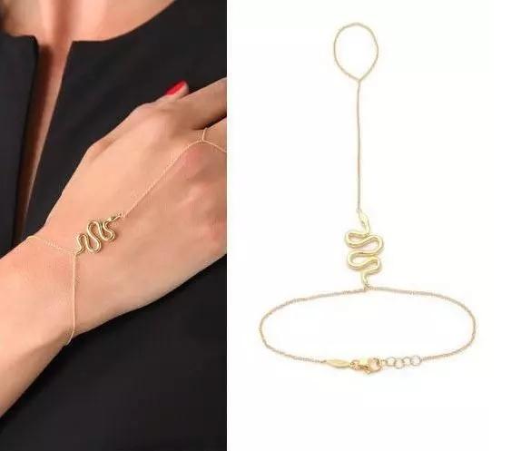 Snake Ring Bracelet