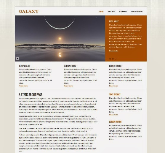 Galaxy Business WordPressTheme