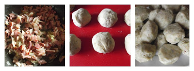Canederli  o Knödel prepariamo gli gnocchi di pane