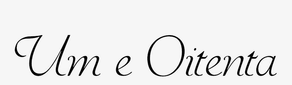 um e oitenta