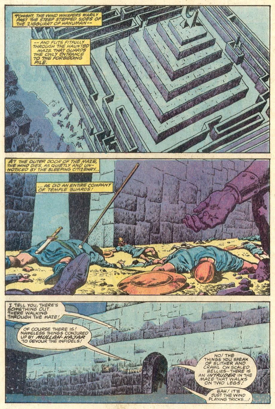 Conan the Barbarian (1970) Issue #117 #129 - English 3