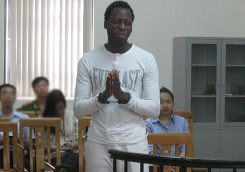 Photo: Nigerian man sentenced to 12 years in jail in Vietnam for conning with false promises of love.