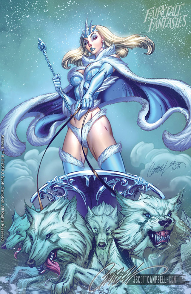 Yannah: Disney Princesses by J. Scott Campbell