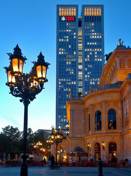 Frankfurt Opernplatz