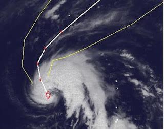 Tropischer Sturm SANVU ist jetzt fast ein Taifun, Sanvu, Taifun Typhoon, Taifunsaison, Taifunsaison 2012, 2012, Mai, Pazifik, Satellitenbild Satellitenbilder, Japan, Vorhersage Forecast Prognose, Verlauf, Zugbahn,