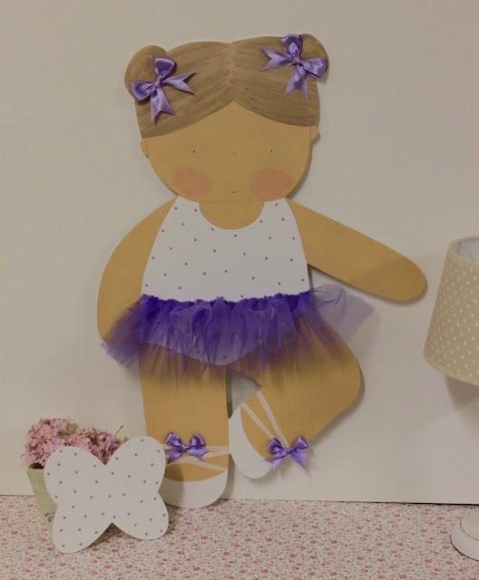 Silueta-infantil-personalizada-ballet
