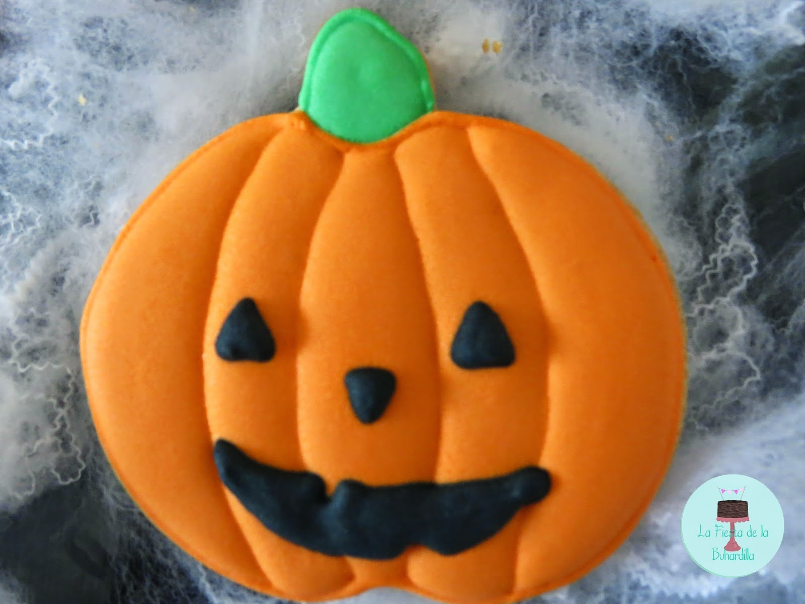 Galleta halloween calabaza