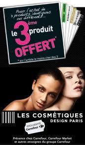 Bon plan cosmétiques 2012 - Promo les Cosmétiques Design Paris