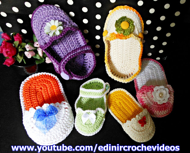 dvd sapatinhos bebê decoração cursodecroche aprendercroche edinir-croche loja