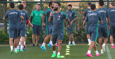 cb3479654d6a Arda Turan Switches To Nike Tiempo Legend Boots