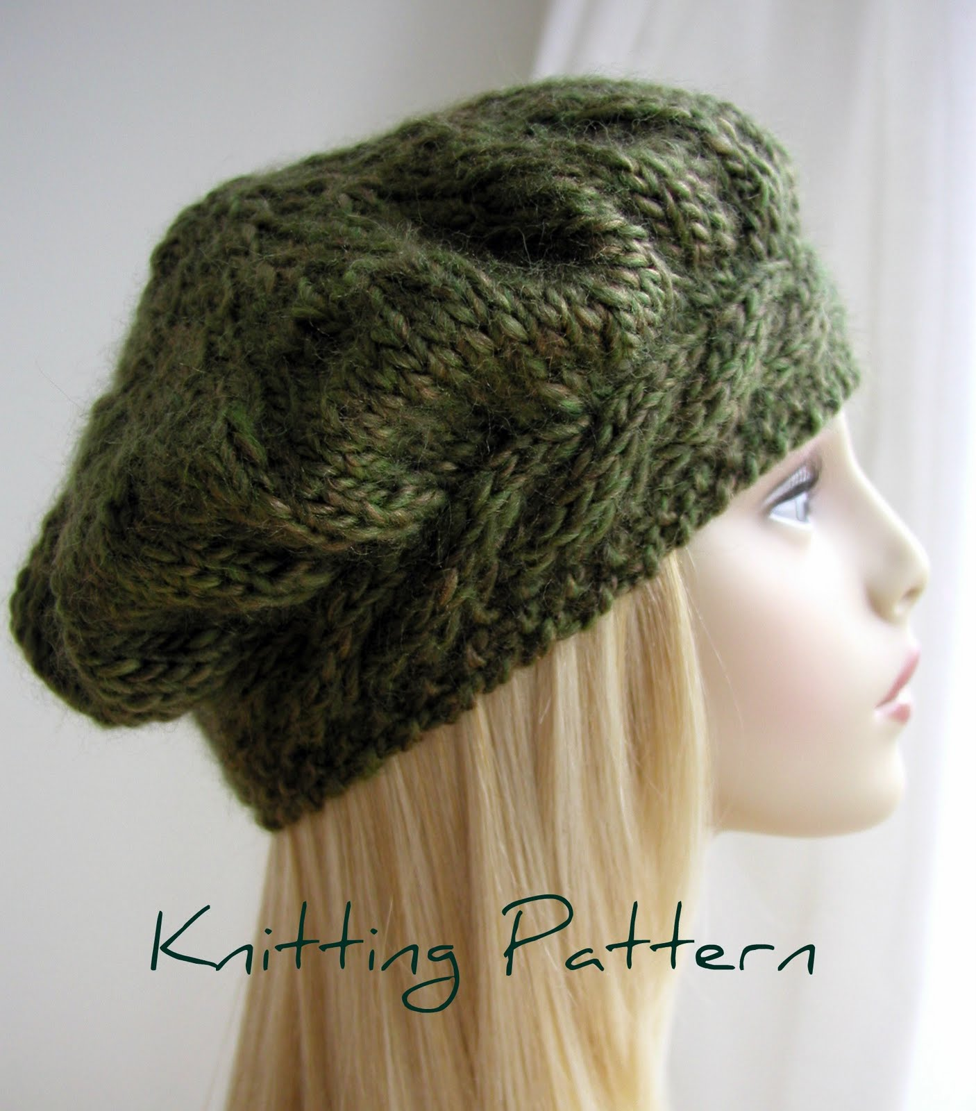 Beret Knitting Pattern Straight Needles : Hand Knitted Things: October 2011