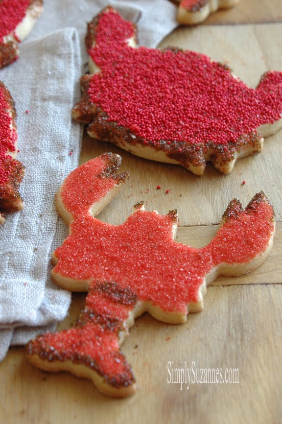 lobster sugar cookies