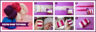 http://thefunkyfelter.blogspot.com/2013/12/how-to-make-felted-wool-soap.html