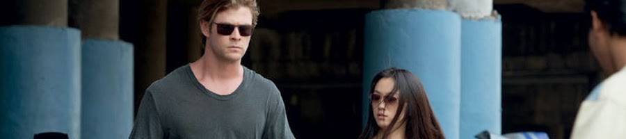 Chris Hemswort - Wei Tang dalam adegan film Blackhat