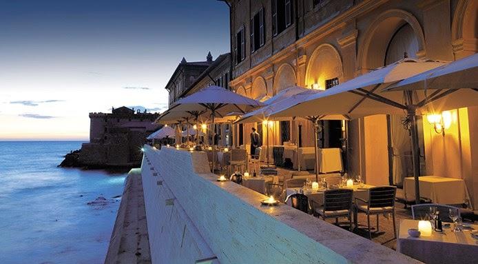 Outlet vacanze formia 12 ristoranti sul mare tra i pi for La vecchia roma ristorante roma