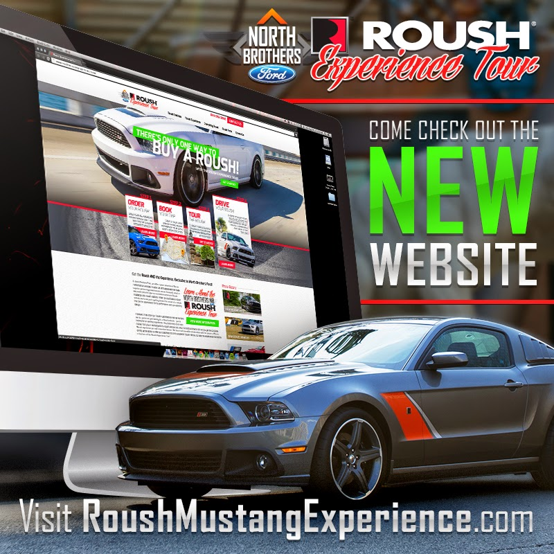 North Brothers Ford is an Exclusive Provider of the Roush Experience Tour!