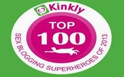 Sex in Words is one of Kinkly's Top 100 Sex Blogging Superheroes of 2013