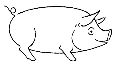How to Draw - Animals - Pig
