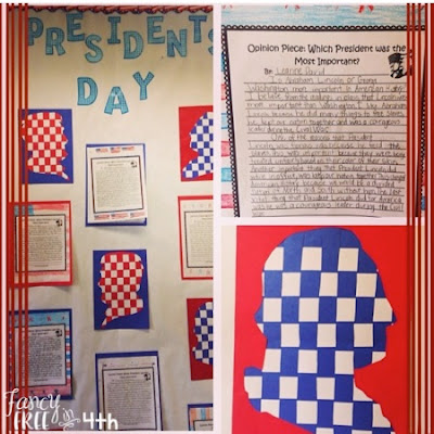 Presidents' Day Activities- Close reading, writing, thinking maps and DIY crafts. This unit will be a perfect addition to your classroom this February! Perfect for Presidents' Day holiday.