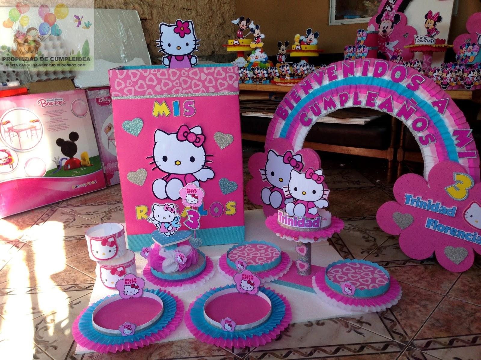 Decoracion Hello Kitty Fiestas Infantiles ~ DECORACIONES INFANTILES