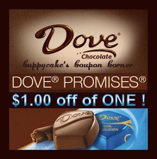 Dove dark chocolate promises coupon