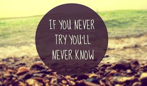 Si nunca intentas,
