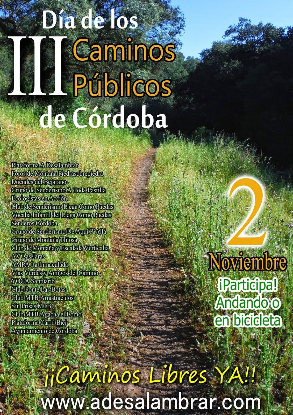 Día de los caminos públicos 2014