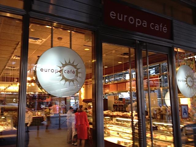 Europa Cafe New York Th Avenue