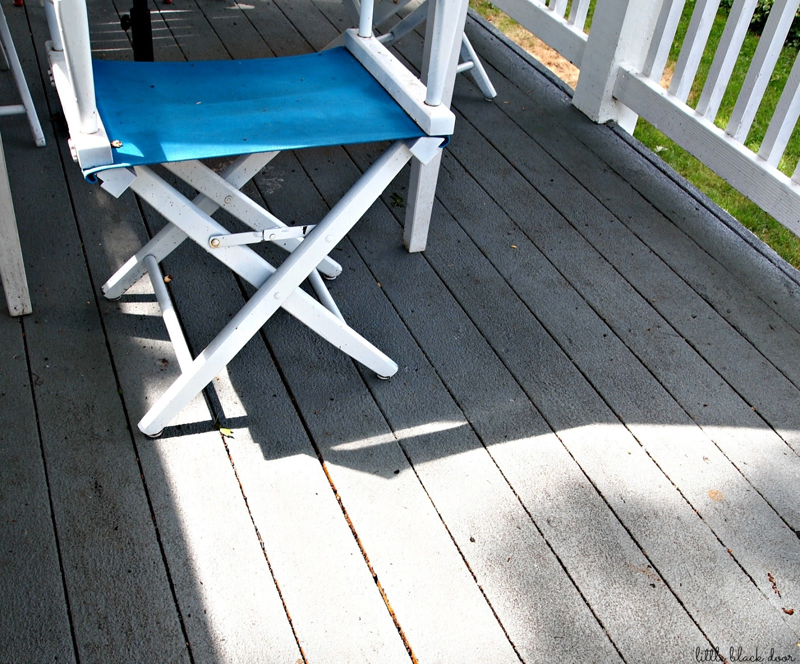 Little black door the deck a year later restore armor review the deck a year later restore armor review baanklon Choice Image