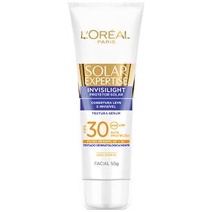 protetor Solar Expertise Invisilight FPS-30 L'Oréal