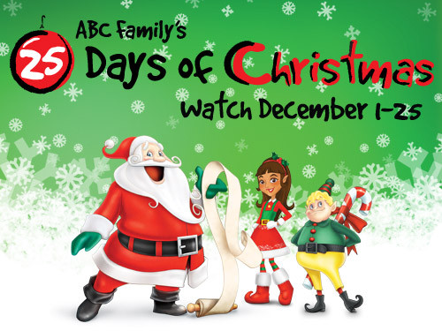 abc familys 25 days of christmas schedule - Abc Family 25 Days Of Christmas Schedule