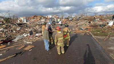 Ola de tornados en EE.UU, 18 de Noviembre 2013