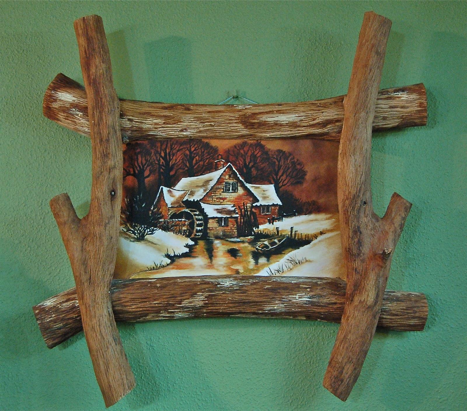 El rinc n del neighbor marcos de madera - Marcos rusticos para fotos ...