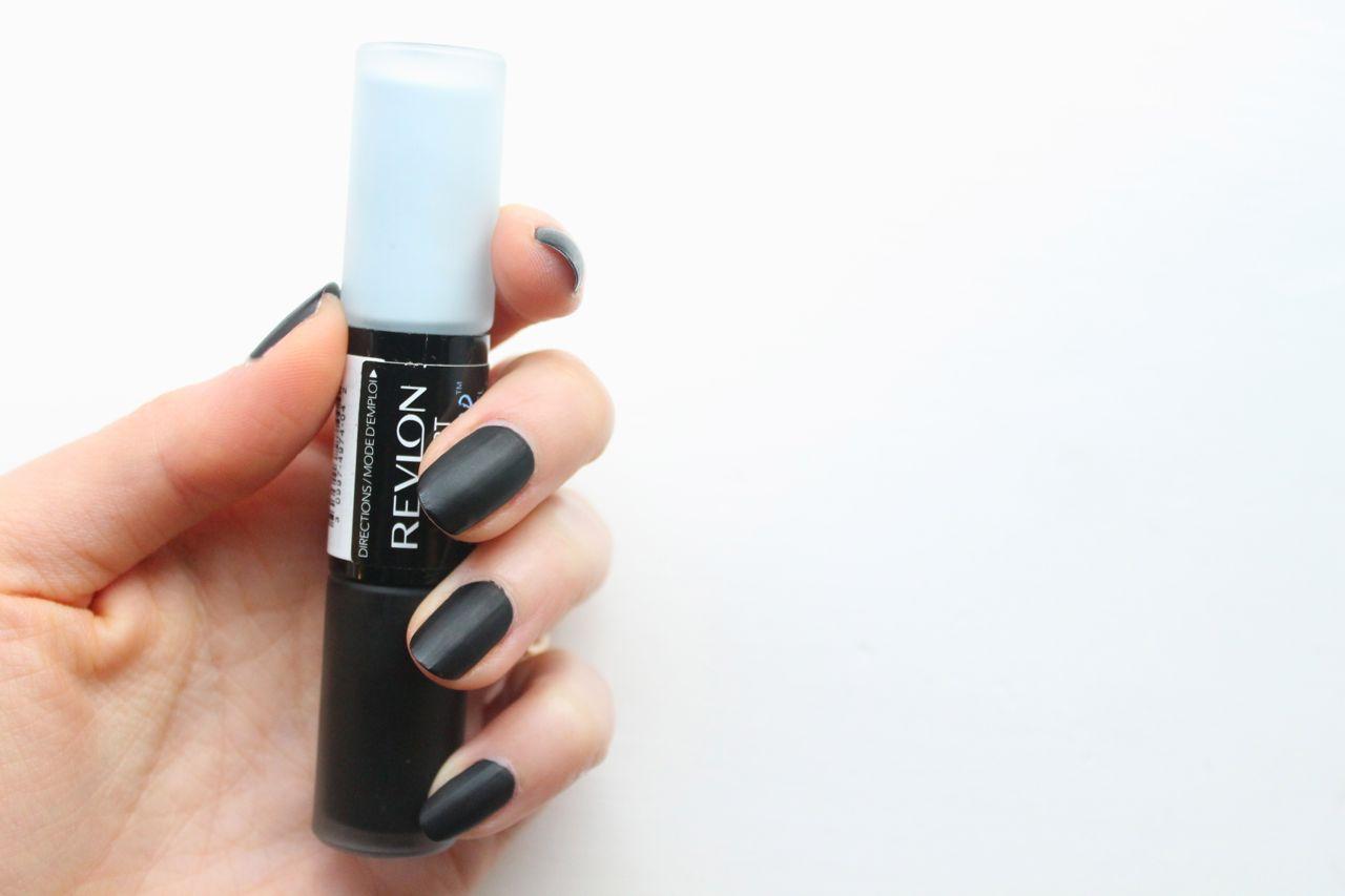 revlon chalkboard nail art