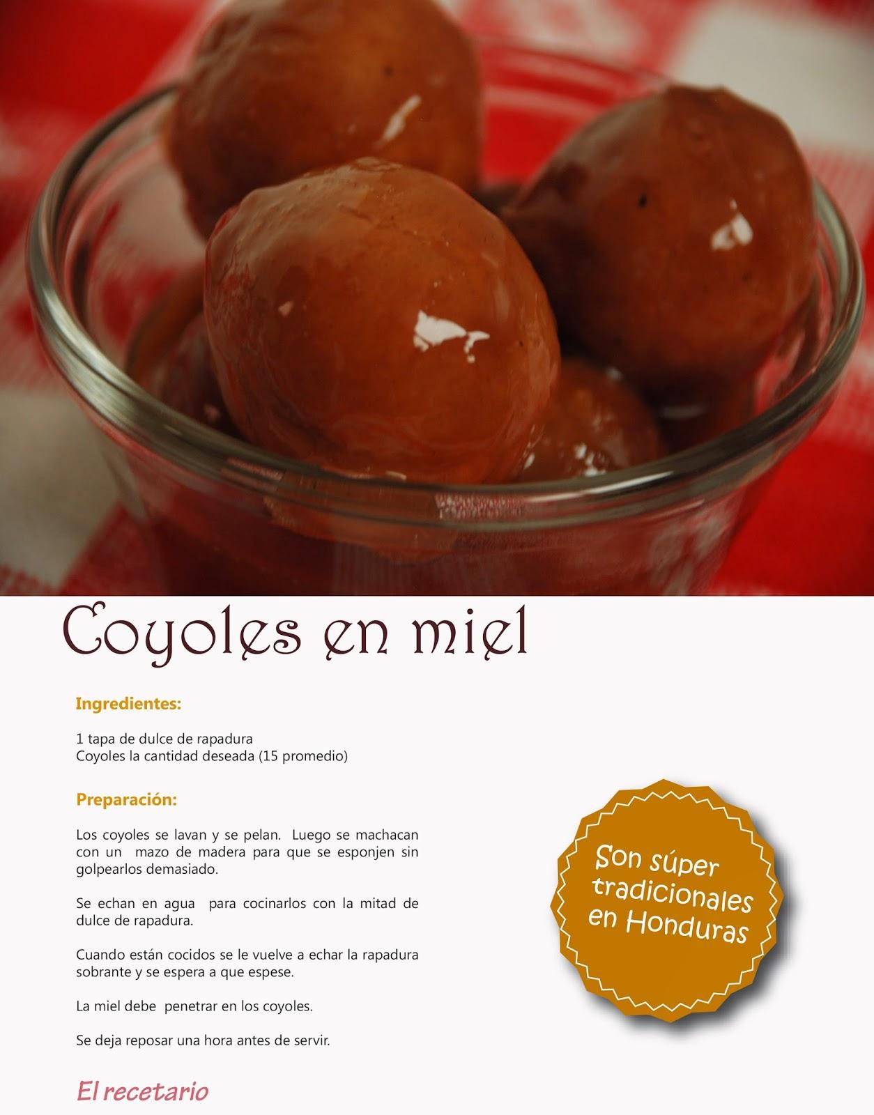 Coyoles En Miel