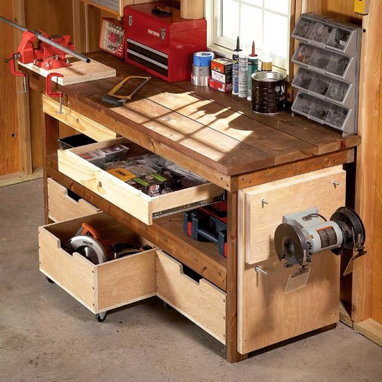Carpinter a de fredy - Mueble para herramientas ...
