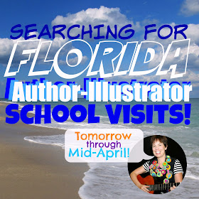Debbie Clement Searches for School Visits as Author-Illustrator (ESPECIALLY in handy Florida!)