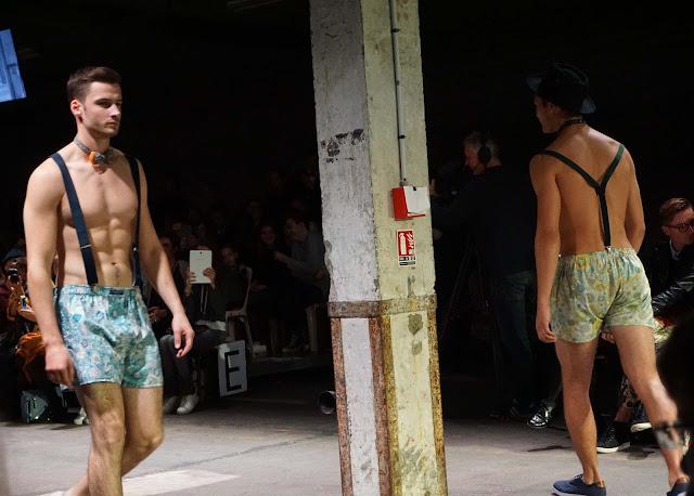 Pokaz mody, Lille, Francja, projektant: Le Colonel Moutarde