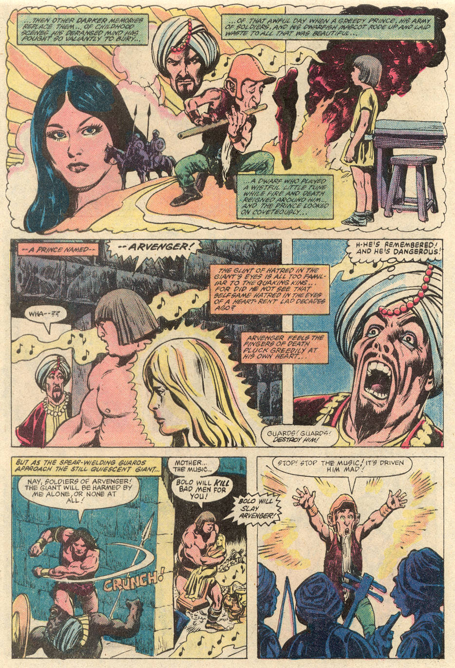 Conan the Barbarian (1970) Issue #137 #149 - English 21