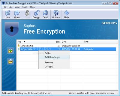 Download Sophos Free Encryption software
