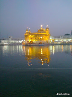Golden Temple in the evening light.