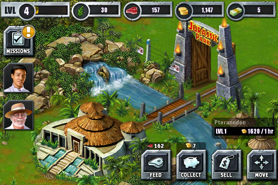 jurassic park builder game online free play